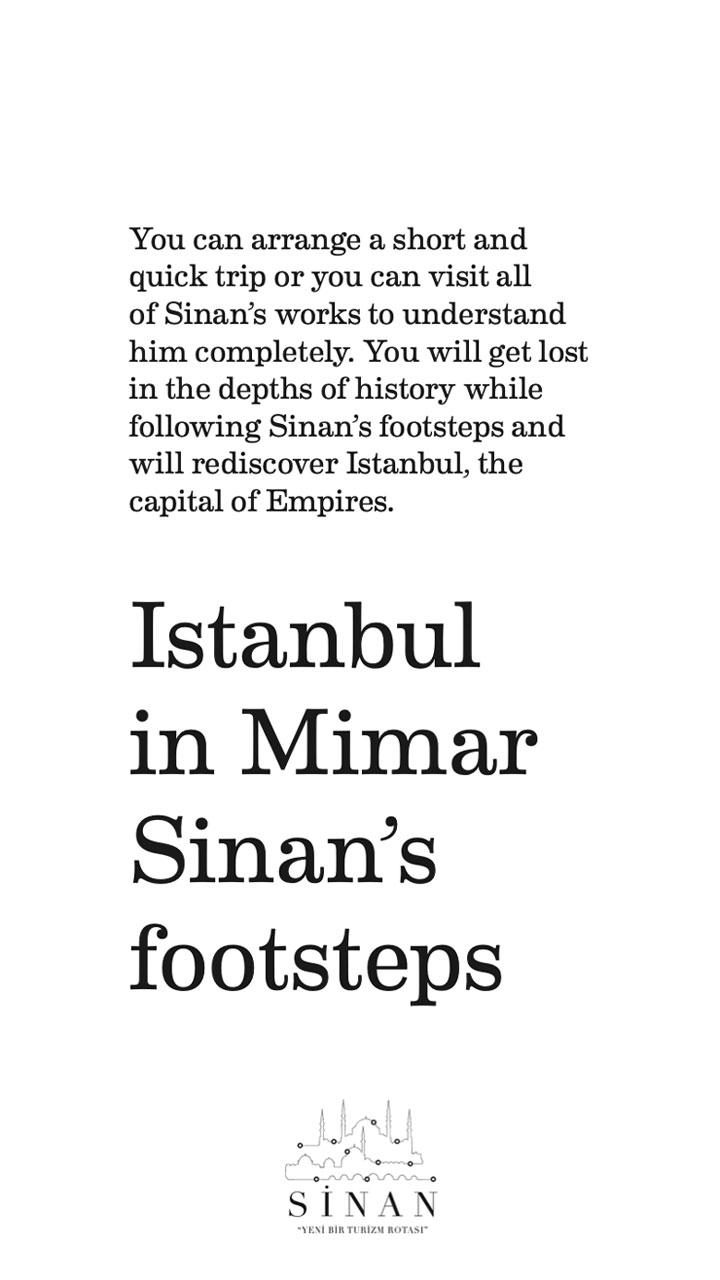 Istanbul in Mimar Sinan's Footsteps