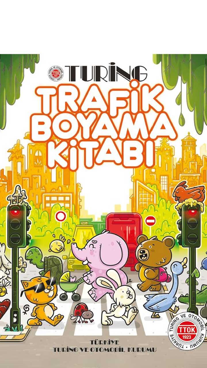 Trafik Boyama Kitabı